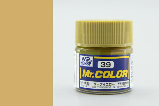 Mr.Color - dark yellow (sandy yellow)