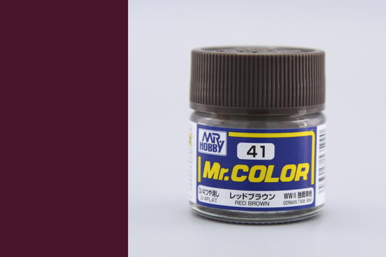 Mr.Color - red brown