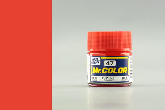 Mr.Color - Clear Red