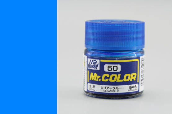 Mr.Color - clear blue