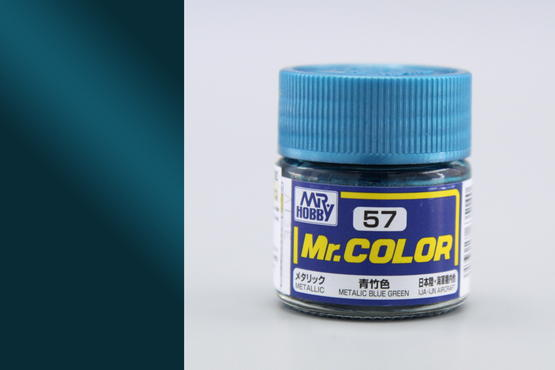 Mr.Color - metallic blue green