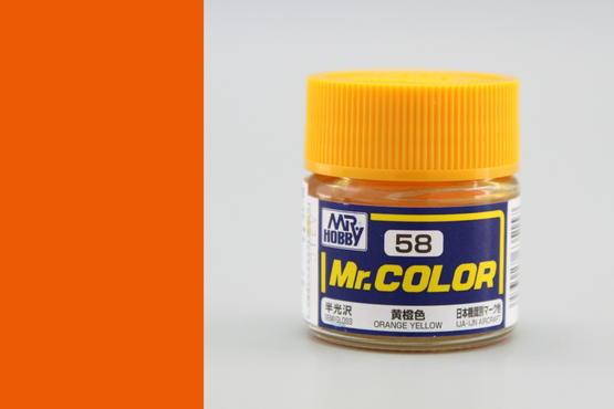 Mr.Color - orange Yellow
