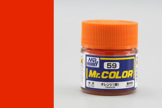Mr.Color - orange