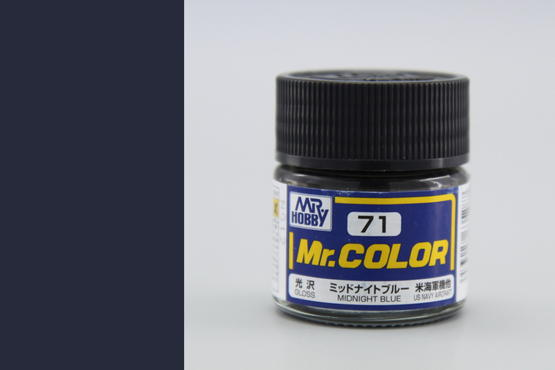 Mr.Color - midnight blue