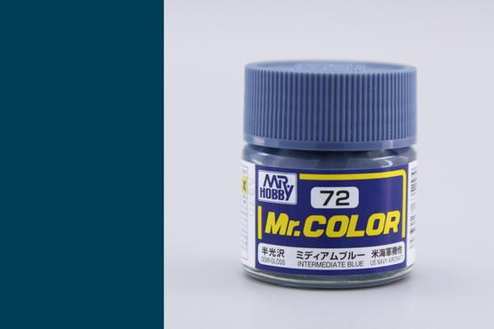 Mr.Color - přechodová modrá