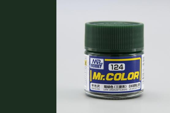 Mr.Color - dark green (Mitsubishi)