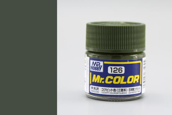 Mr.Color - barva kokpitu (Mitsubishi)