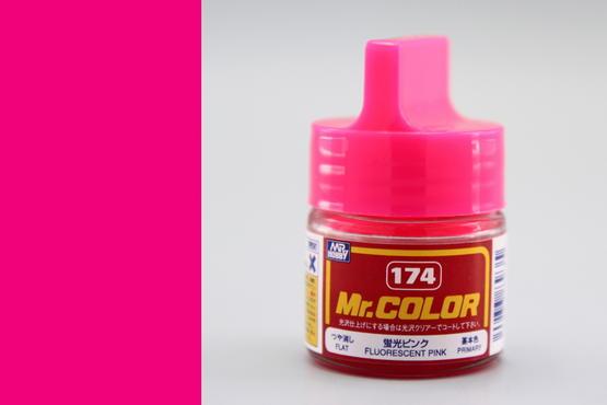 Mr.Color - fluorescent pink