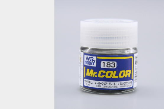 Mr.Color - super clear gray tone