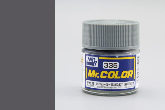 Mr.Color - medium seagray BS381C/637