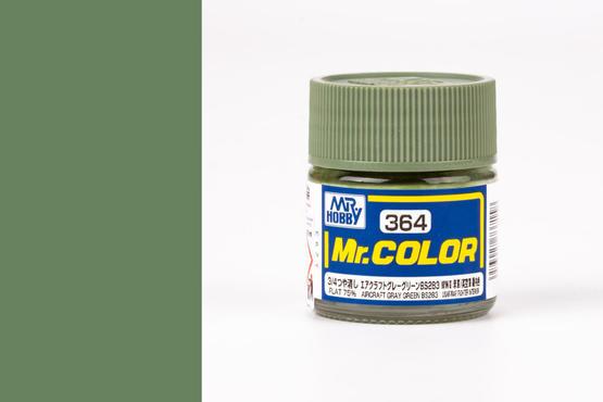 Mr.Color - Aircraft Gray Green BS283