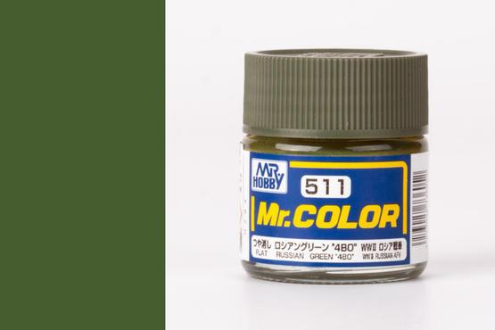 """Mr.Color - Russian Green """"4BO"""""""