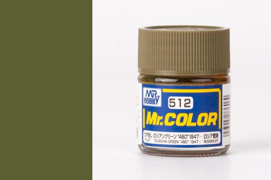"""Mr.Color - Russian Green """"4BO"""" 1947"""