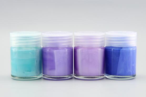 Mr.Color - set of 4 blue pastel colors  - 1