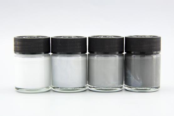 Mr.Color - set of 4 gray pastel colors  - 1