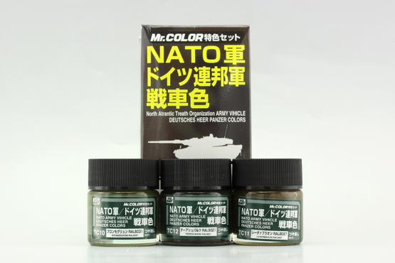 Mr.Color - NATO tank color  - 1