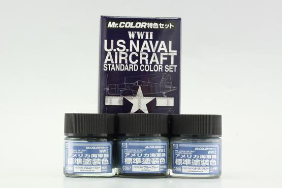 Mr.Color - Набор камуфляжных красок – US Navy 2 мир. в.  - 1