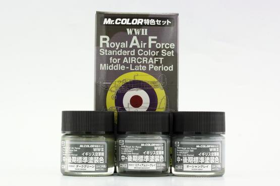 Mr.Color - RAF 2.sv.v pozdní verze - sada barev  - 1