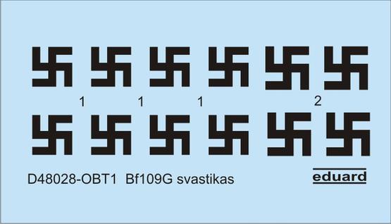 Bf 109G かぎ十字 1/48