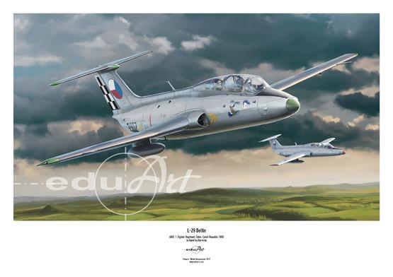 Poster - L-29 Delfín