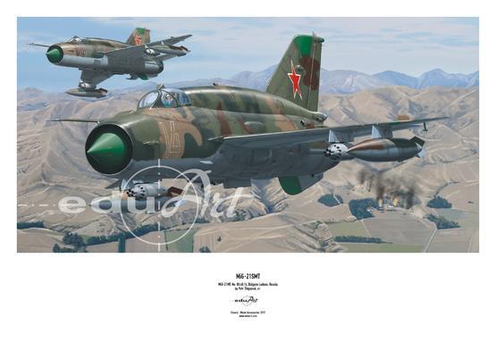 Poster - MiG-21SMT