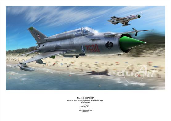 Poster - MiG-21MF