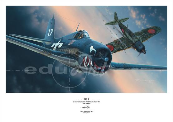 Poster - F6F-3