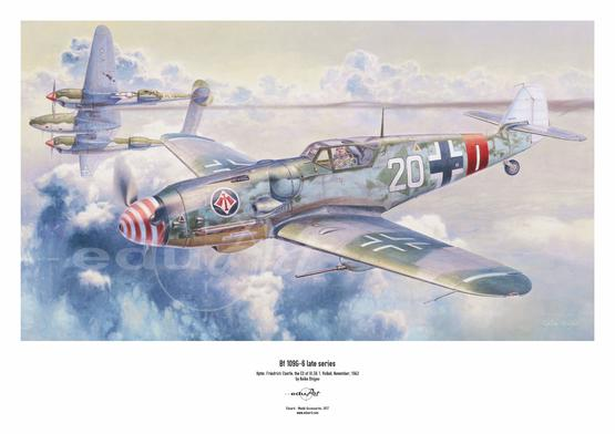 Poster - Bf 109G-6