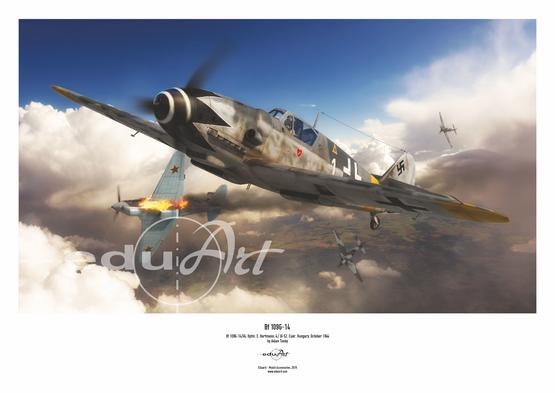 Poster - Bf 109G-14