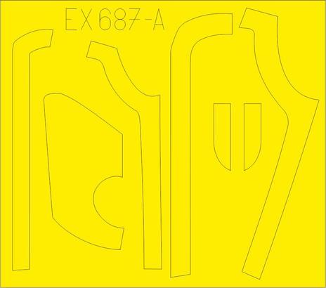 B-17G 防眩パネル(BO & DL生産) 1/48  - 1