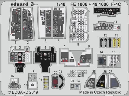 F-4C 内装 1/48  - 1