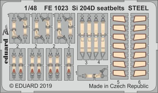 Si 204D стальные ремни 1/48