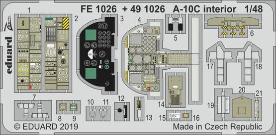 A-10C interior 1/48  - 1