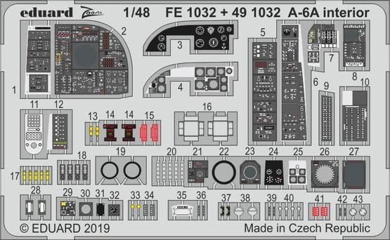 A-6A interiér 1/48  - 1