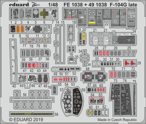 F-104G поздняя версия 1/48