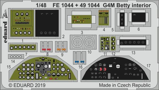 G4M Betty interior 1/48  - 1