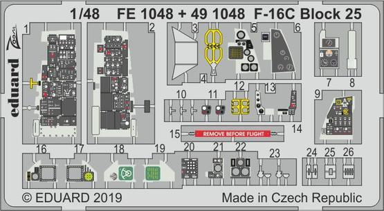 F-16C Block 25 1/48  - 1
