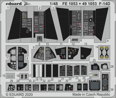 F-14D 1/48  - 1