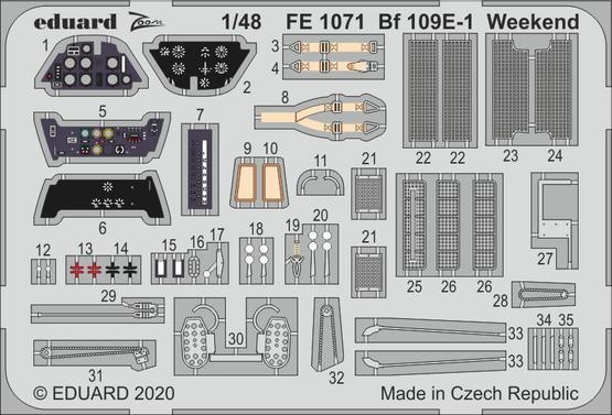 Bf 109E-1 Weekend 1/48