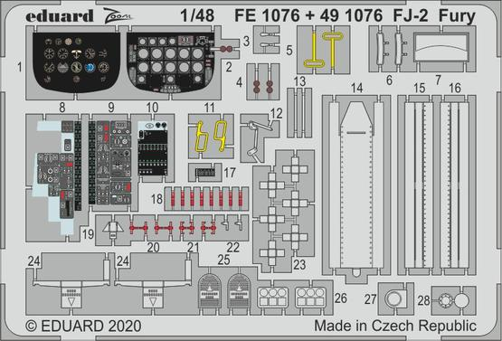 FJ-2 Fury 1/48  - 1
