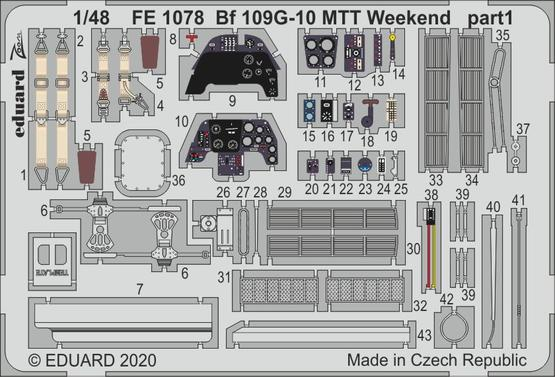 Bf 109G-10 MTT Weekend 1/48  - 1