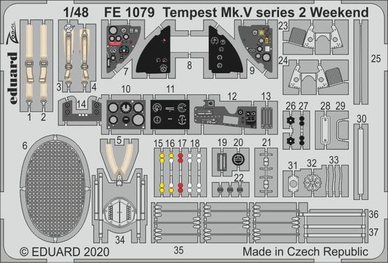 Tempest Mk.V series 2 Weekend 1/48