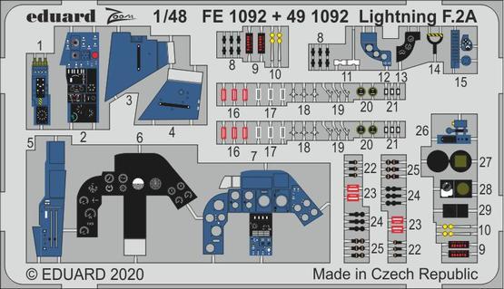 Lightning F.2A 1/48