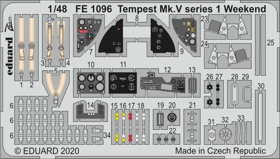 Tempest Mk.V series 1 Weekend 1/48