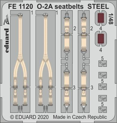 O-2A seatbelts STEEL 1/48