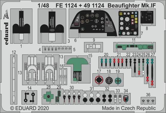 Beaufighter Mk.IF 1/48