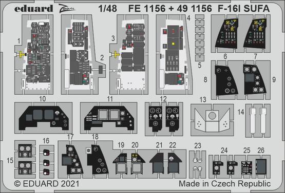 F-16I SUFA 1/48  - 1