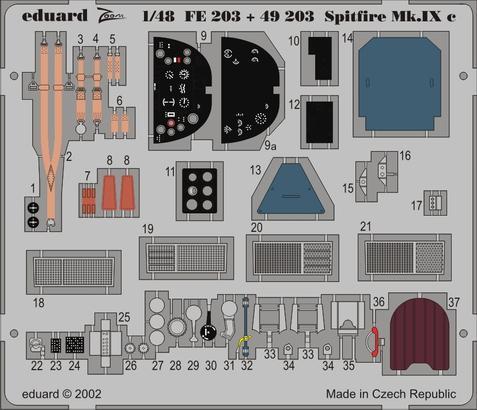 Spitfire Mk.IXc 1/48  - 1