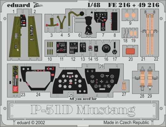 P-51D 1/48  - 1