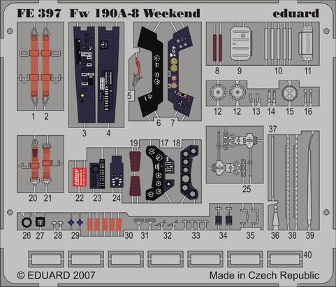 Fw 190A-8 Weekend 1/48